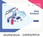 data analysis concept  modern...   Shutterstock .eps vector #1449429914