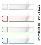 option web banners and labels | Shutterstock .eps vector #144951121