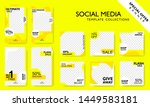 modern promotion square web... | Shutterstock .eps vector #1449583181