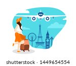 poster or banner design with... | Shutterstock .eps vector #1449654554
