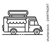 drink street truck icon.... | Shutterstock . vector #1449796397