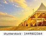 Luxurious Tents At Desert Beach ...