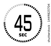 the 45 second countdown timer...