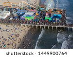 santa monica  california  usa   ... | Shutterstock . vector #1449900764