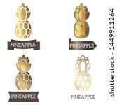 logo  sign  symbol gold... | Shutterstock .eps vector #1449911264
