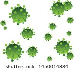 composition of flying cells of...   Shutterstock .eps vector #1450014884