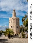 The Torre del Oro (Tower of Gold) is a dodecagonal military watchtower in Sevilla, Spain. It was erected by the Almohad Caliphate in order to control access to Seville via the Guadalquivir river.