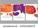 modern fluid mobile for sale... | Shutterstock .eps vector #1450104674