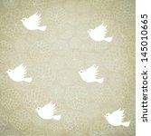 vector background illustration. ... | Shutterstock .eps vector #145010665