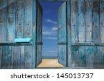 Old Wooden Doors That Open To...