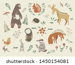 scandinavian style set of...   Shutterstock .eps vector #1450154081
