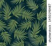 seamless vector tropical... | Shutterstock .eps vector #1450198487