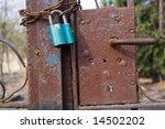 the lock   Shutterstock . vector #14502202