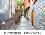 Narrow Alley In The Old Town....