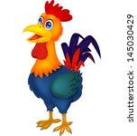 rooster cartoon | Shutterstock .eps vector #145030429