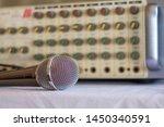 sound amplifier. audio...   Shutterstock . vector #1450340591