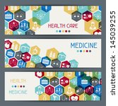 medical and health care... | Shutterstock .eps vector #145039255