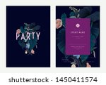 event invitation card template... | Shutterstock .eps vector #1450411574
