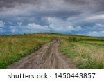 Dirt Road Leading To The Top Of ...