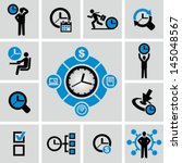 time management | Shutterstock .eps vector #145048567
