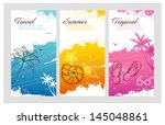 vector illustration of color... | Shutterstock .eps vector #145048861