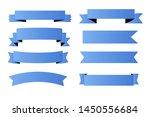 banner blue design vector icon... | Shutterstock .eps vector #1450556684