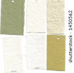paper sample swatches  hand... | Shutterstock . vector #1450562