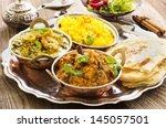 indian cuisine | Shutterstock . vector #145057501