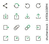 web buttons simple vector icons ...