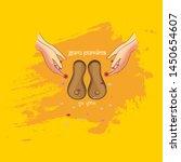 vector illustration for the day ... | Shutterstock .eps vector #1450654607