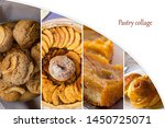 food collage from photos of... | Shutterstock . vector #1450725071