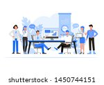 business people character... | Shutterstock .eps vector #1450744151
