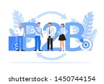 business people character... | Shutterstock .eps vector #1450744154