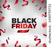 black friday vector design.... | Shutterstock .eps vector #1450759721