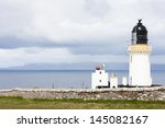 dunnet head lighthouse with...