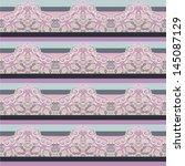 paisley ornament. seamless... | Shutterstock .eps vector #145087129