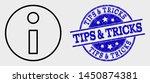vector line information... | Shutterstock .eps vector #1450874381