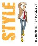 vector young man models....   Shutterstock .eps vector #1450922624