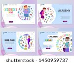 children home page template ...   Shutterstock .eps vector #1450959737