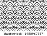 flower geometric pattern.... | Shutterstock .eps vector #1450967957