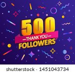 Thank You 500 Followers Thanks...