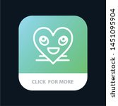 heart  emojis  smiley  face ...   Shutterstock .eps vector #1451095904
