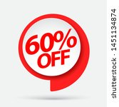 sale of special offers.... | Shutterstock .eps vector #1451134874