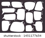 collection of speech bubbles... | Shutterstock .eps vector #1451177654