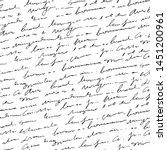 handwritten abstract text...   Shutterstock .eps vector #1451200961