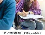high school university student...   Shutterstock . vector #1451262317