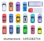 top view cars. auto transport ... | Shutterstock .eps vector #1451282714