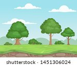 seamless game nature landscape. ...