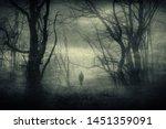 Horror Forest Landscape ...