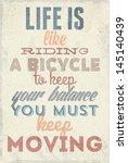 vintage typography vector... | Shutterstock .eps vector #145140439
